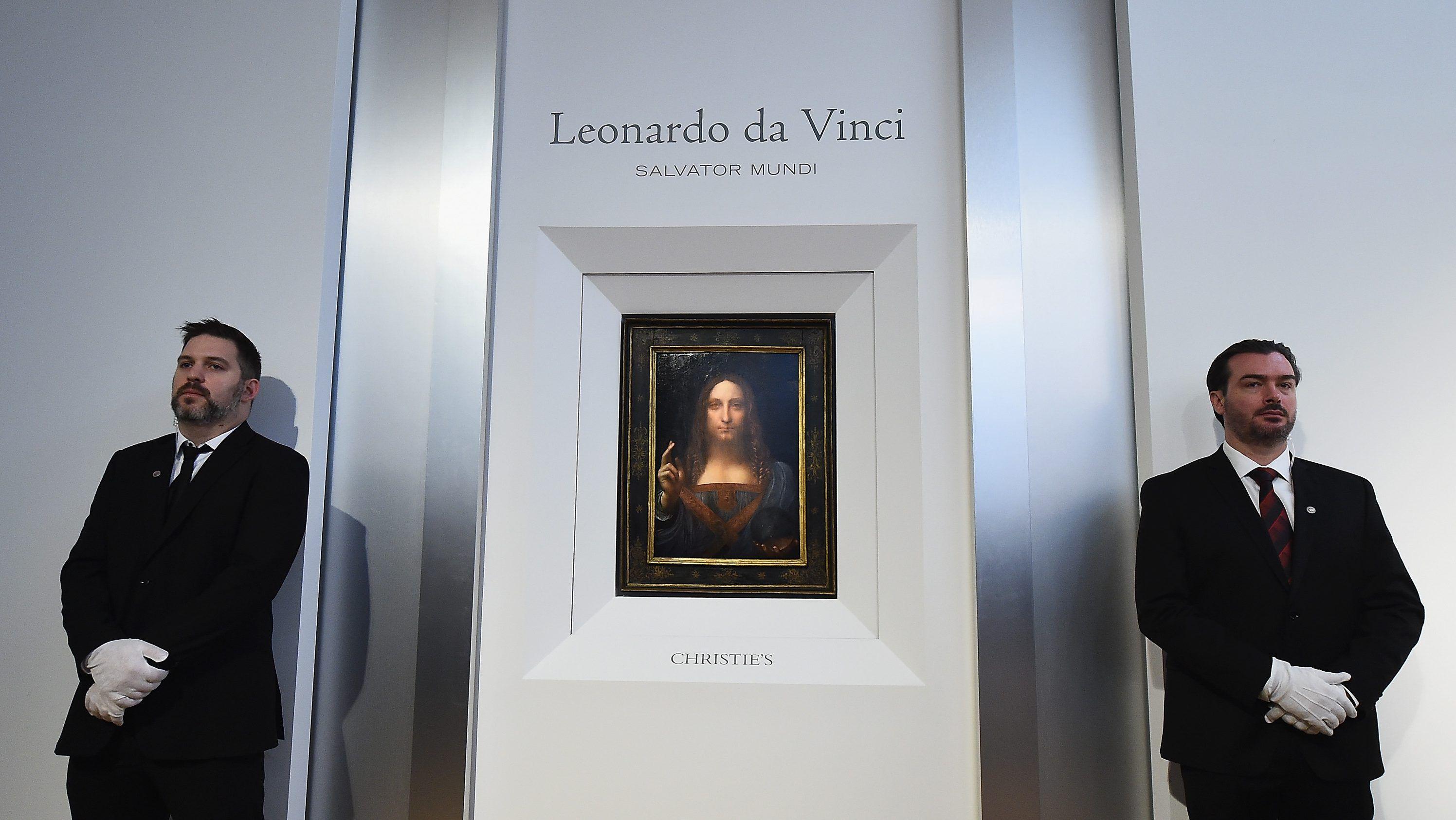 Un tablou de Leonardo da Vinci, vândut cu peste 450 milioane de dolari