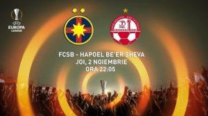 Steaua - Hapoel Beer Sheva