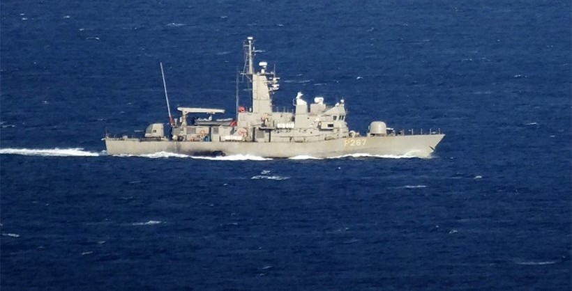 O navă militară turcă şi una greacă au intrat în coliziune