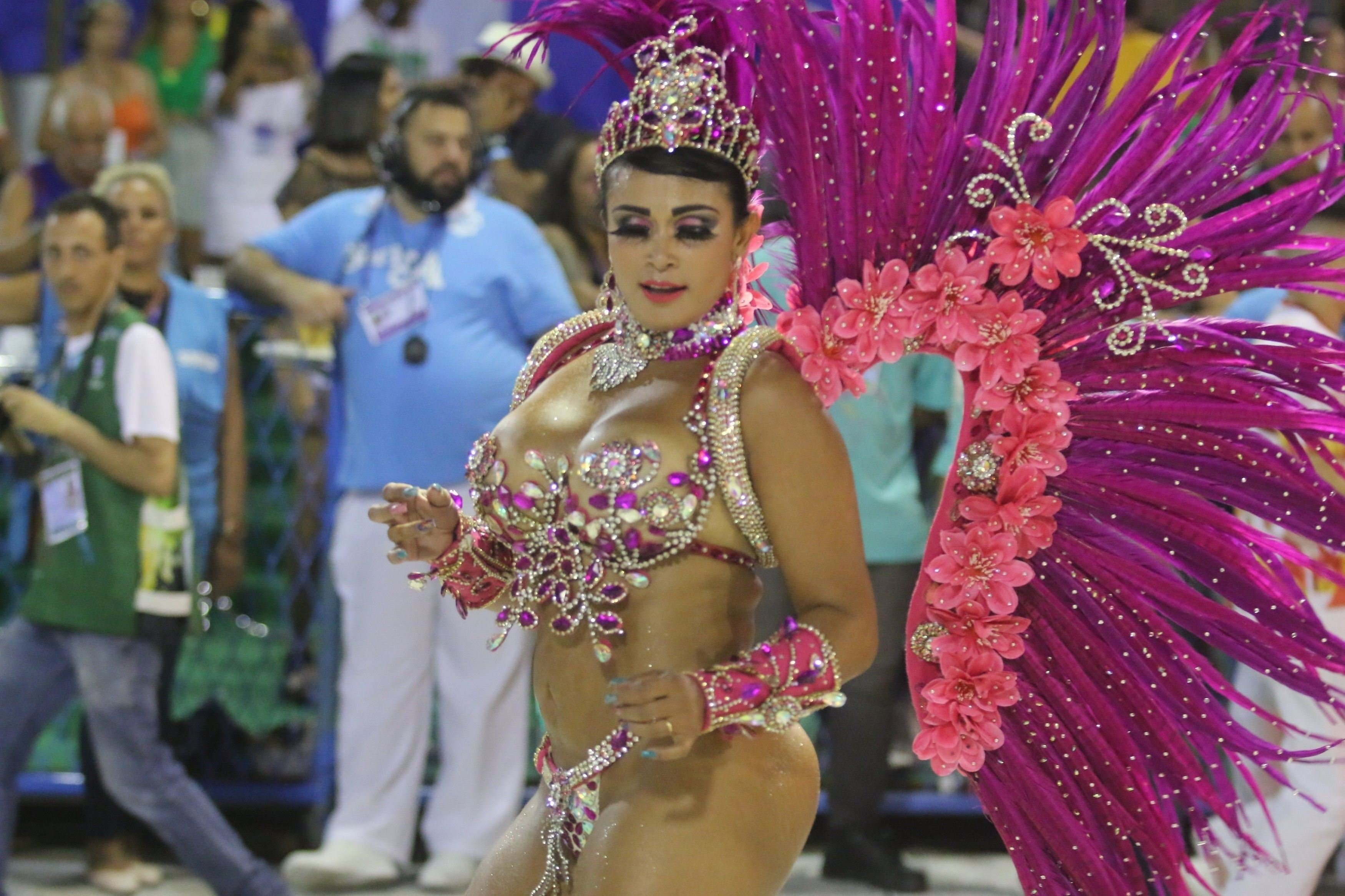 Carnavalul de la Rio: Defilarea şcolilor de samba