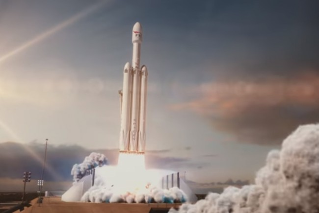 UPDATE – SpaceX a lansat racheta Falcon Heavy (live video)