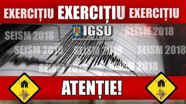 UPDATE – Cutremur de 7,5 grade în Vrancea. Cum simulează autoritățile intervenția post seism