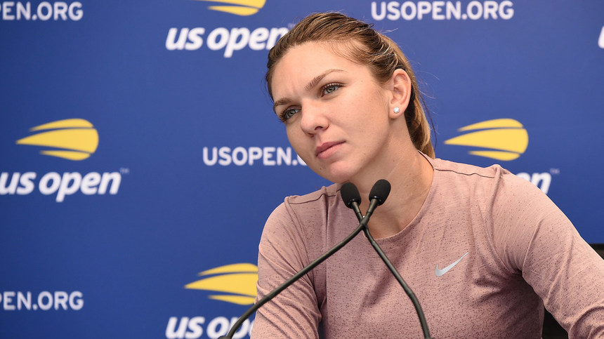 Simona Halep are hernie de disc