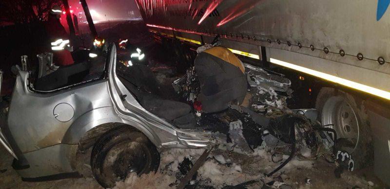 Accident rutier foarte GRAV în Suceava (video)
