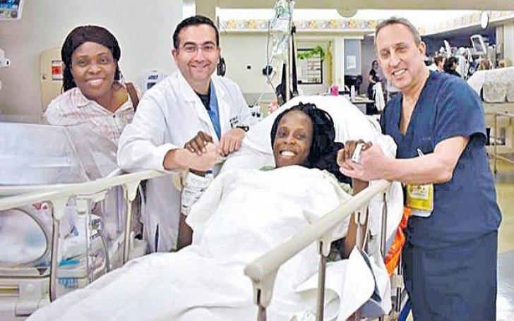 O femeie a născut șase bebeluși în nouă minute