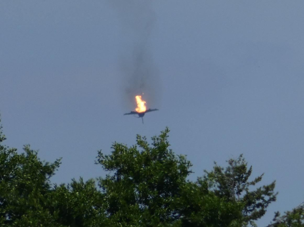 Două avioane Eurofighter Typhoon s-au ciocnit în zbor